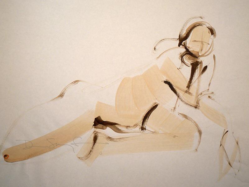 Brushy Woman by Denise Souza Finney