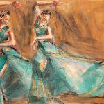 Dos Bulerias Verdes by Denise Souza Finney