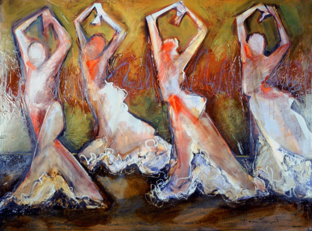 Four Flamenco by Denise Souza Finney