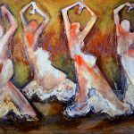 Four Flamenco by Denise Souza Finney