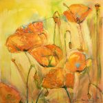 Orange Poppies by Denise Souza Finney
