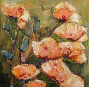 Peach Poppy by Denise Souza Finney