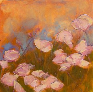 Pink Poppy Field by Denise Souza Finney