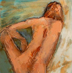 Series I Figure Leaning by Denise Souza Finney