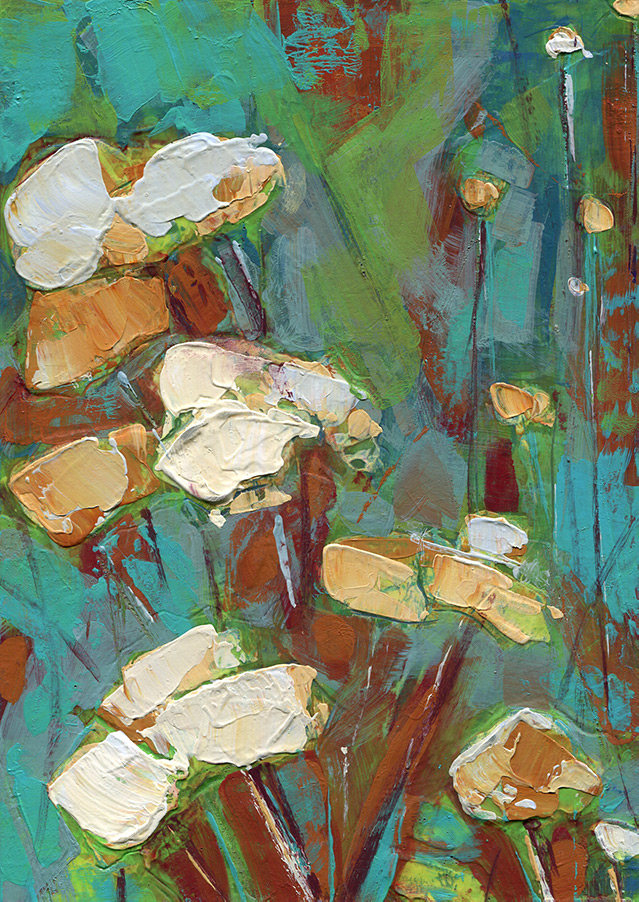 Poppies By The Sea painting by Denise Souza Finney