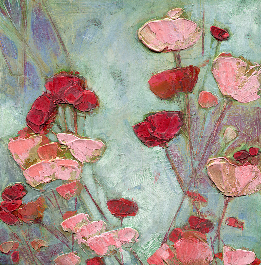Summer Pinks And Reds by Denise Souza Finney