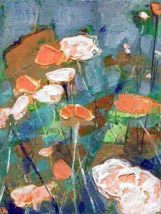 Kari's Poppies painting by Denise Souza Finney