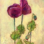 Lauren's Grape painting by Denise Souza Finney