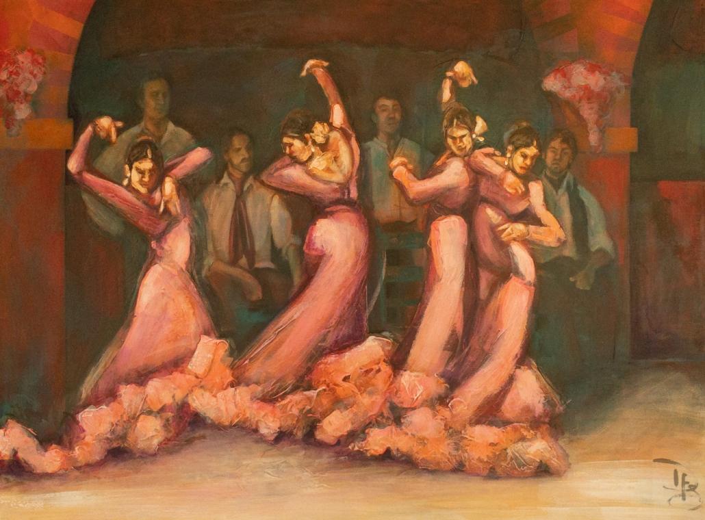 flamenco gallery painting