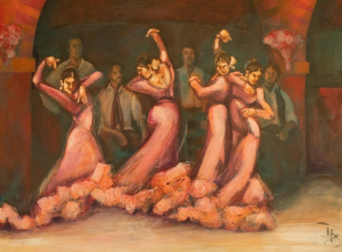flamenco gallery painting