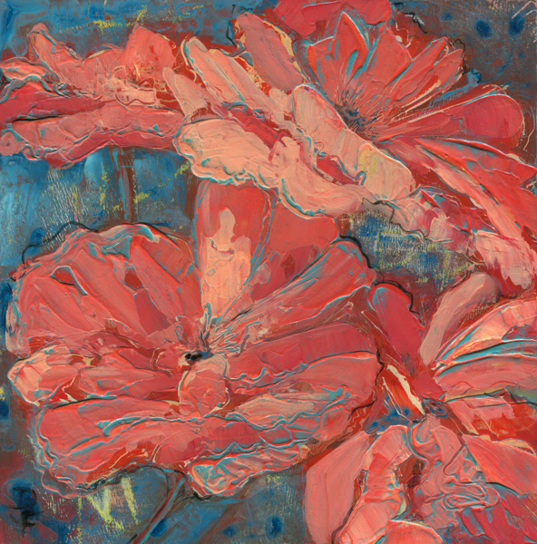 image of painting titled a season for poppies by Denise Souza Finney