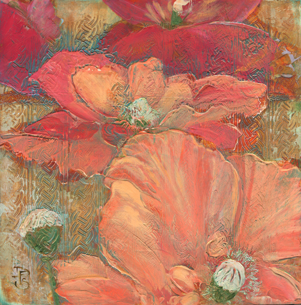 image of poppy painting by Denise Souza Finney